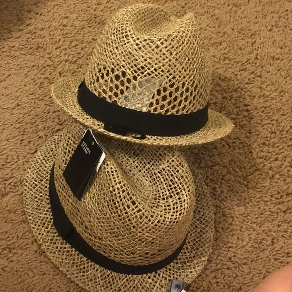 76203a004f010 H M Men s Natural Straw Hat. NWT.